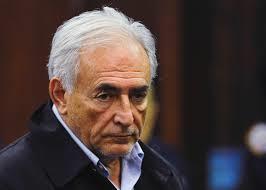 La verdadera careta de Strauss-Kahn.