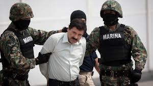 """""""El Chapo"""" Guzmán detenido después de su fuga."""
